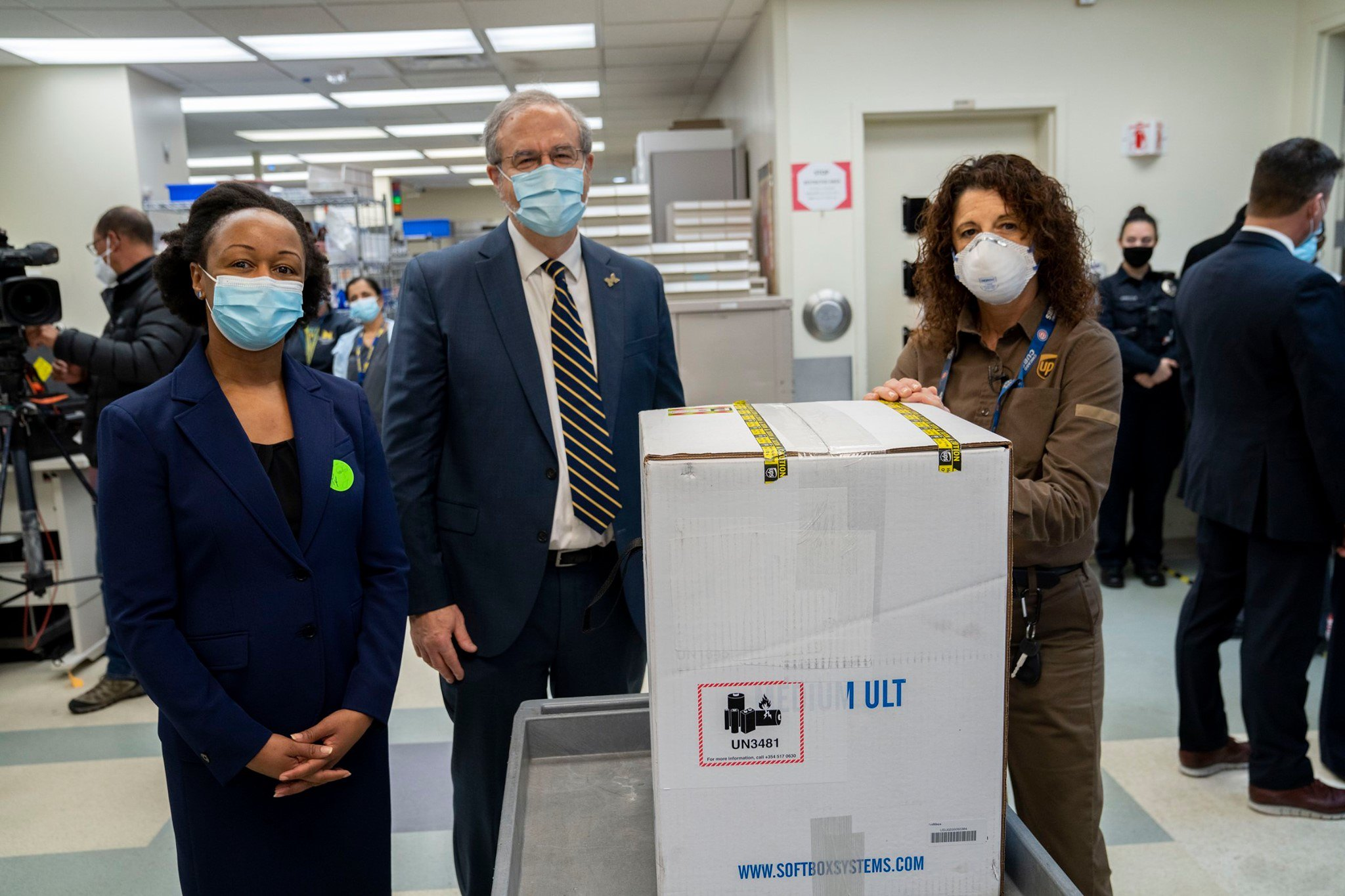 Severe Weather Conditions Delay Vaccine Shipments