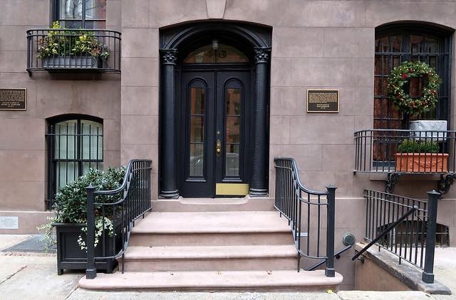Comfortably settled:  48 West 12th Street (1854), Greenwich Village, New York