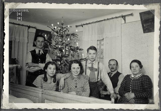 ArchivTappen2Al2c6 Weihnachtsfeier, Österreich, 1938