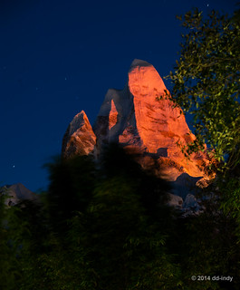 Red Mountain at Night... | by dd-indy
