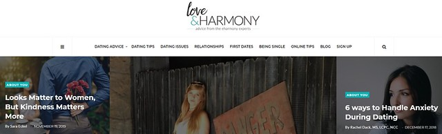 eHarmony dating tips