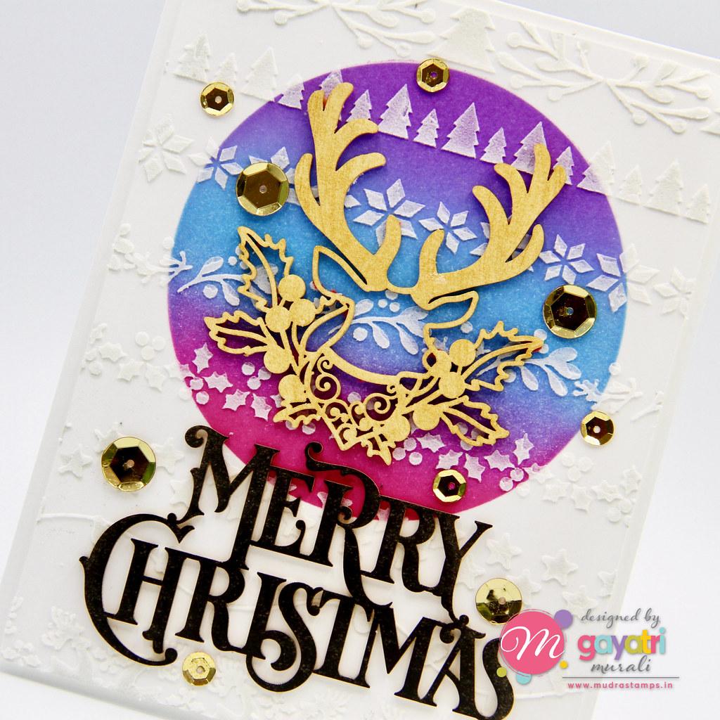 Merry Christmas card #3 closeup1