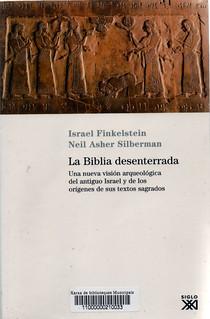 Israel Finkelstein y Neil Asher Silberman, La biblia desenterrada