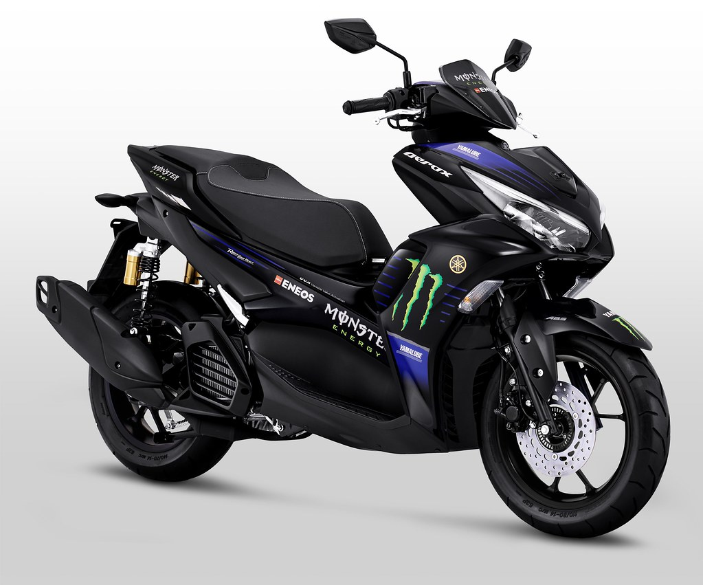 Yamaha All New Aerox Connected MotoGP Edition