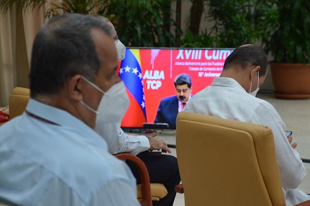 Cumbre ALBA-TCP en el XVI aniversario de su fundación