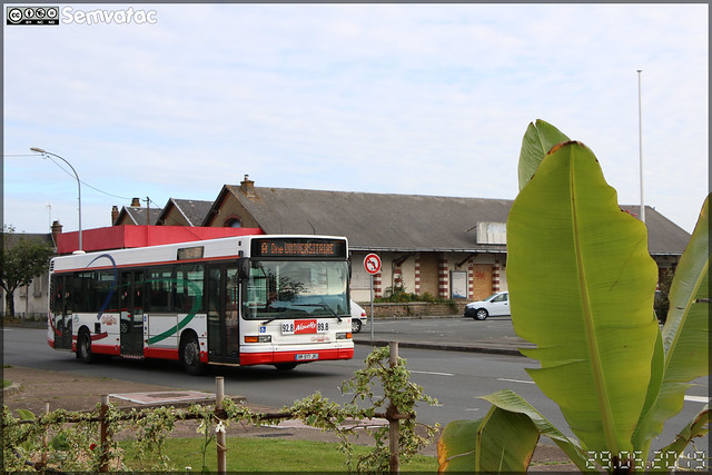 Heuliez Bus GX 317 – TPC (Transports Publics du Choletais) / CholetBus n°66