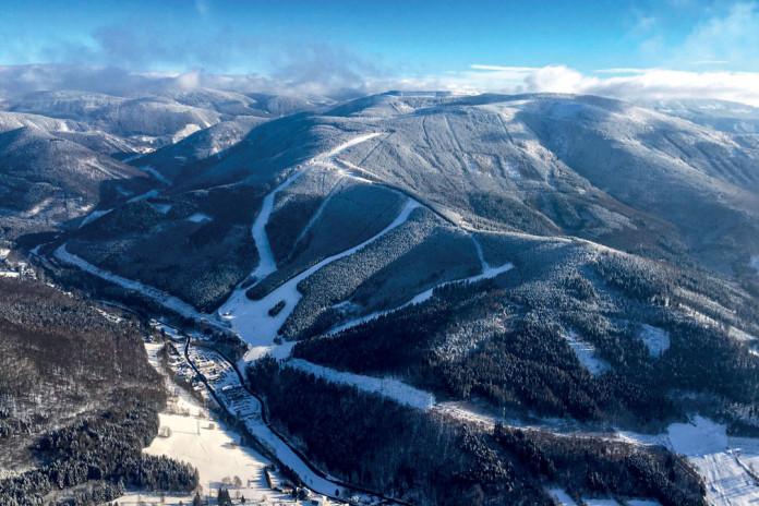 Areál Kouty - skvělé lyžování anevšední zážitky