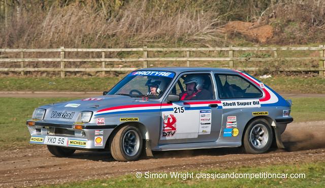 Stuart Anderson Vauxhall Chevette HSR