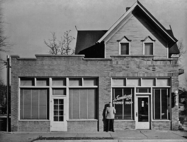 Sanitary Barber Shop, Grand Rapids, Michigan