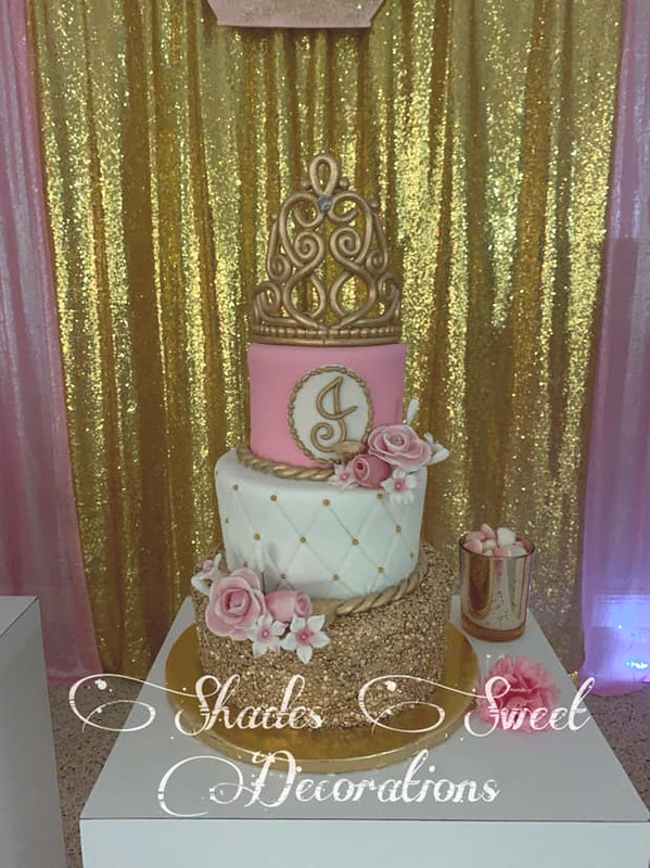 Cake by Shade Roman of Shade's Sweet Decorations Cakes & More