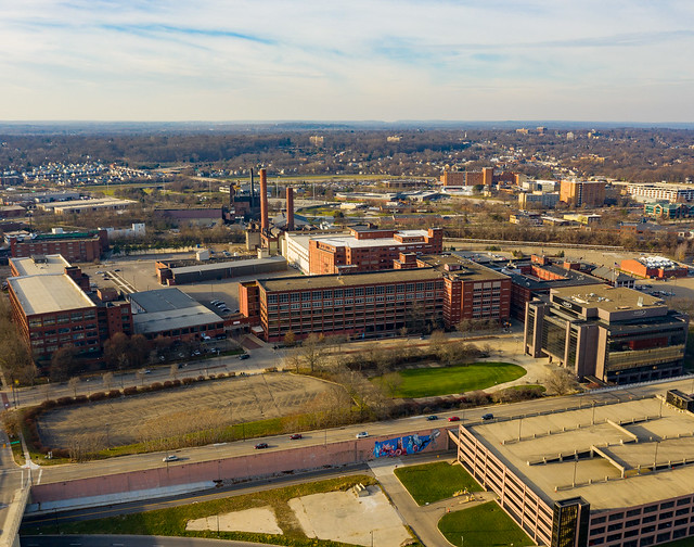 Akron From Above