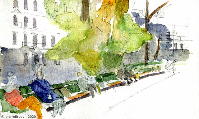 square Maurice Gardette, à Paris