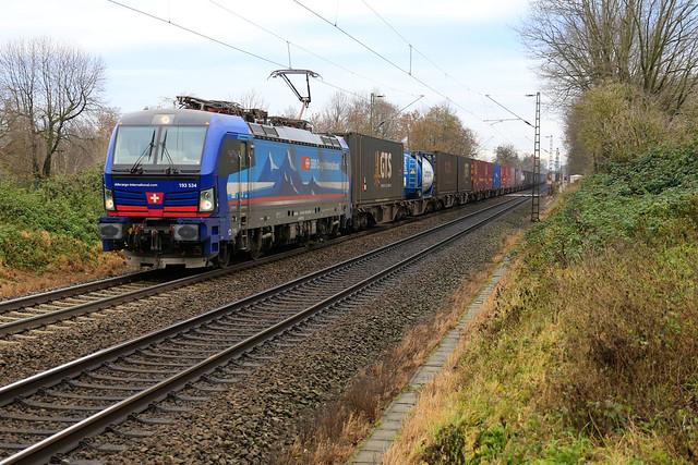 193 534 - SBB Cargo - Meerbusch