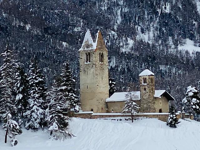 Kirche San Gian, Celerina,