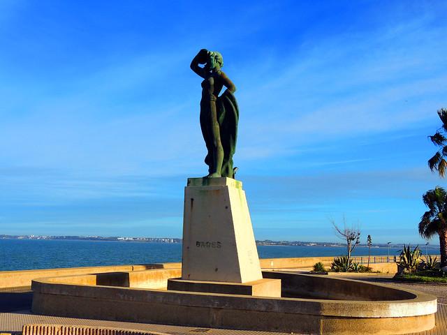 <Estatua de Gades> Cádiz - Andalucía - España. IN EXPLORE 15/12/2020