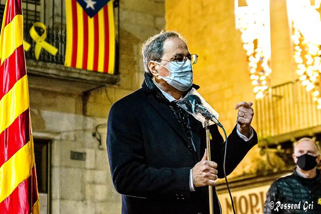 MH. President. Quim Torra - Girona