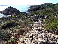 Sur le sentier de Capiciolu di I Volpi : les petites aiguilles rocheuses