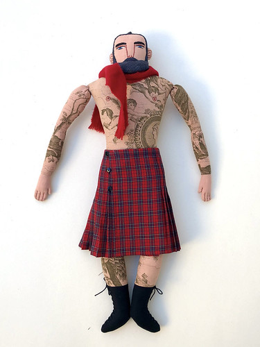 Red Kilt and Cherub Tattoos | by Mimi K