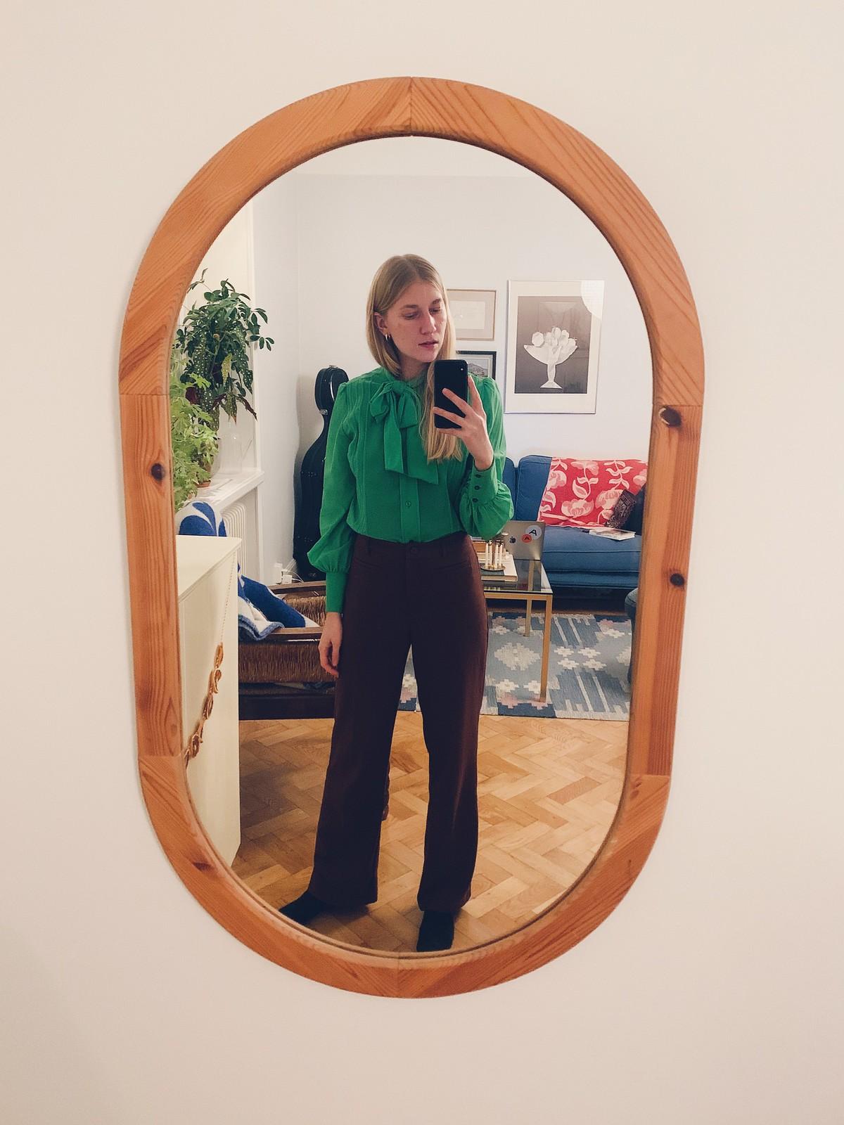 brun & grön