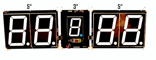 SCORE5 Arduino based Digital Scoreboard with Common anode Seven segments display (24)