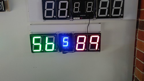 SCORE5 Arduino based Digital Scoreboard with Common anode Seven segments display (19)