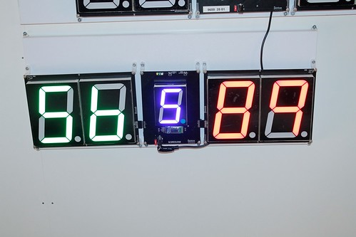 SCORE5 Arduino based Digital Scoreboard with Common anode Seven segments display (5)