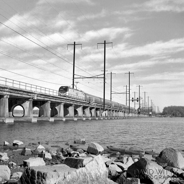 Train #143 Crossing The Bush River