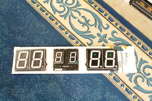 Arduino based 6 digits digital Scoreboard for table tennis
