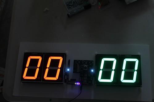 Arduino based digital Scoreboard  (495)