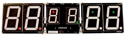 Arduino based digital Scoreboard  (476)