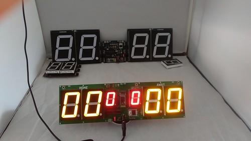Arduino based digital Scoreboard  (465)