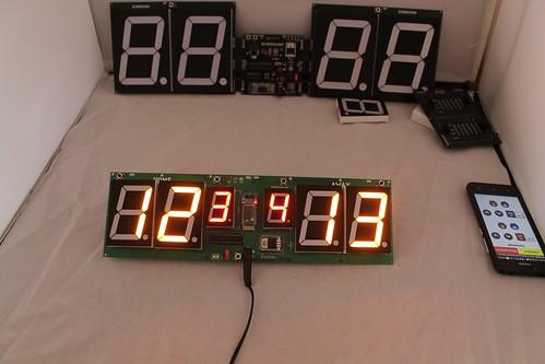 Arduino based digital Scoreboard  (461)