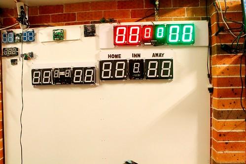 Arduino based digital Scoreboard  (454)
