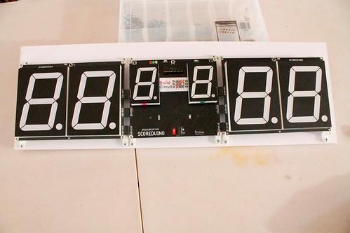 Arduino based digital Scoreboard  (447)
