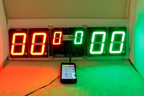 Arduino based digital Scoreboard  (444)
