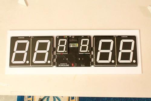Arduino based digital Scoreboard  (439)