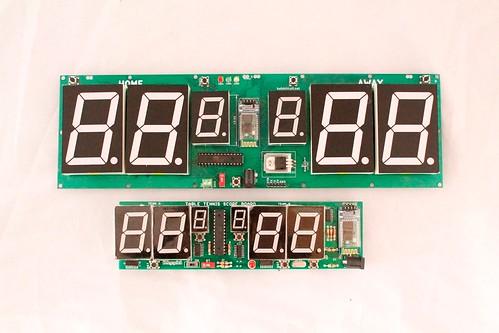 Arduino based digital Scoreboard  (435)