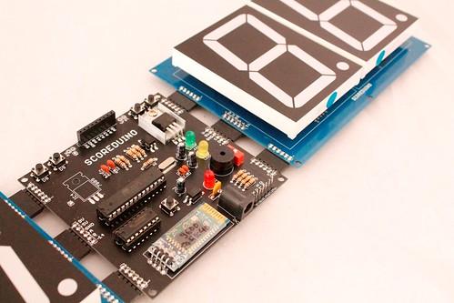Arduino based digital Scoreboard  (434)