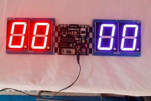 Arduino based digital Scoreboard  (432)