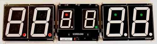 Arduino based digital Scoreboard  (420)