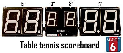 Arduino based digital Scoreboard  (419)