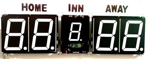 Arduino based digital Scoreboard  (417)