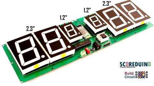 Arduino based digital Scoreboard  (414)