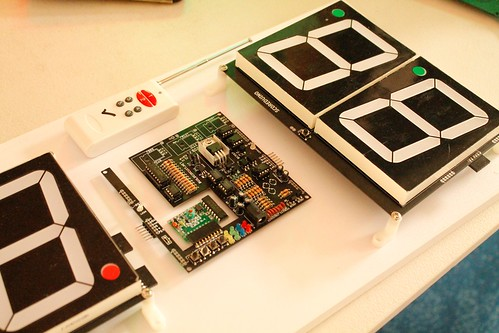 Arduino based digital Scoreboard  (411)