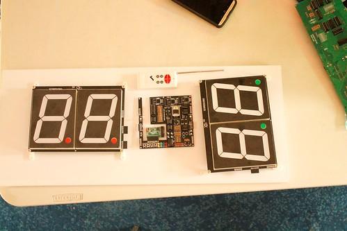 Arduino based digital Scoreboard  (410)
