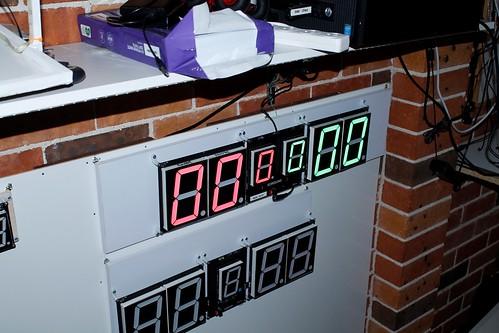 Arduino based digital Scoreboard  (408)
