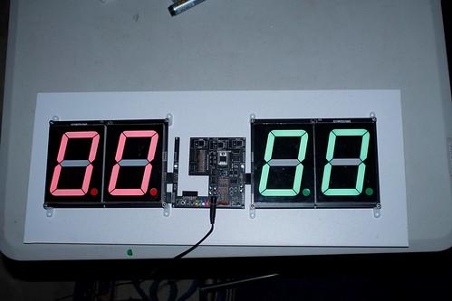 Arduino based digital Scoreboard  (407)