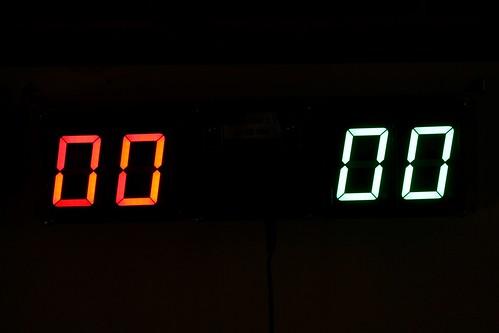Arduino based digital Scoreboard  (404)