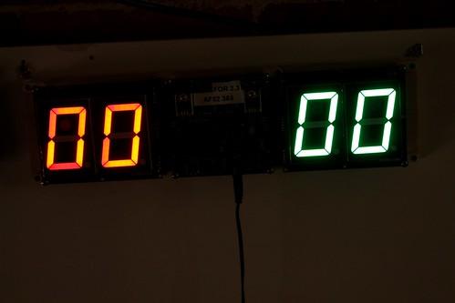 Arduino based digital Scoreboard  (401)
