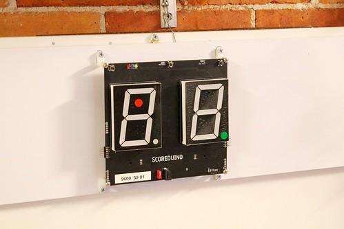 Arduino based digital Scoreboard  (390)
